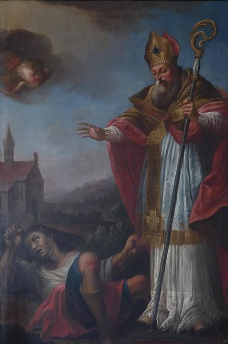 Валентин Римский исцеляет эпилептика