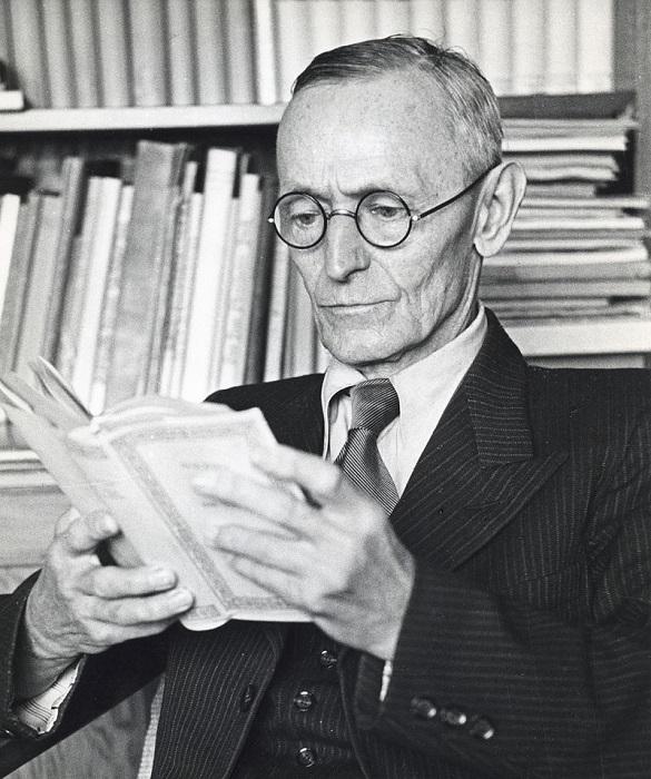 Герман Гессе не был согласен на то, чтобы его имя использовалось как реклама Третьего Рейха.