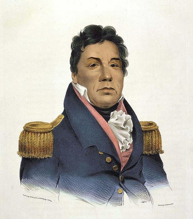 Пушматаха, американский генерал родом из народа чокто.