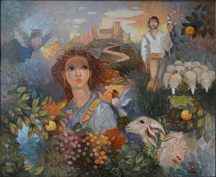 Картина Сули Сеферова.