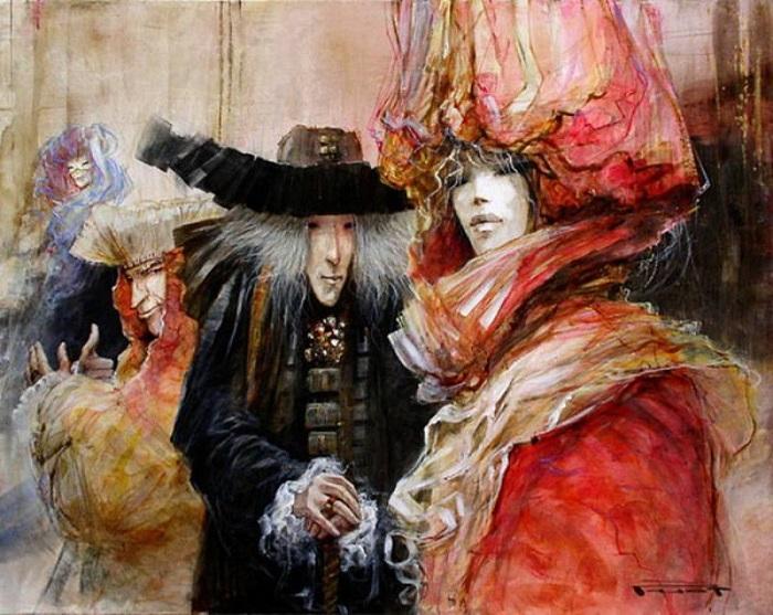 Картина Марселя Нино Пажо.