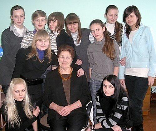 Елена Петровна на фотографии из социальных сетей. 2009 год.