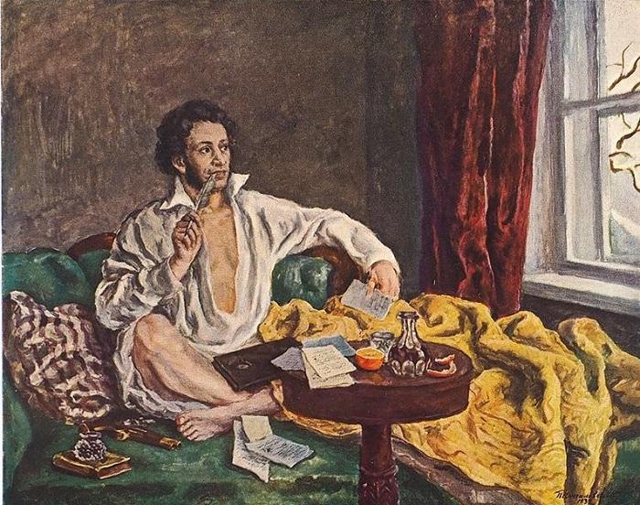 Пушкин без штанов.