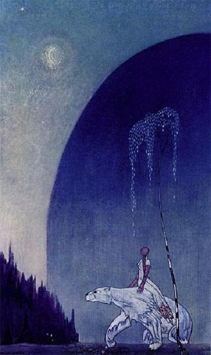 Кай Нильсен прославился своими иллюстрациями скандинавских сказок.
