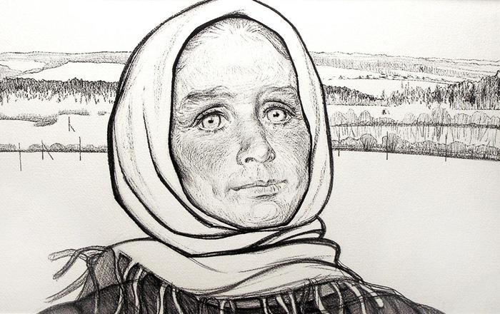 Таких лиц, как в деревнях на севере, Джанна, по её признанию, не видела больше нигде.