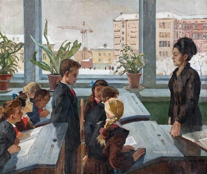 Картина Николая Беляева.