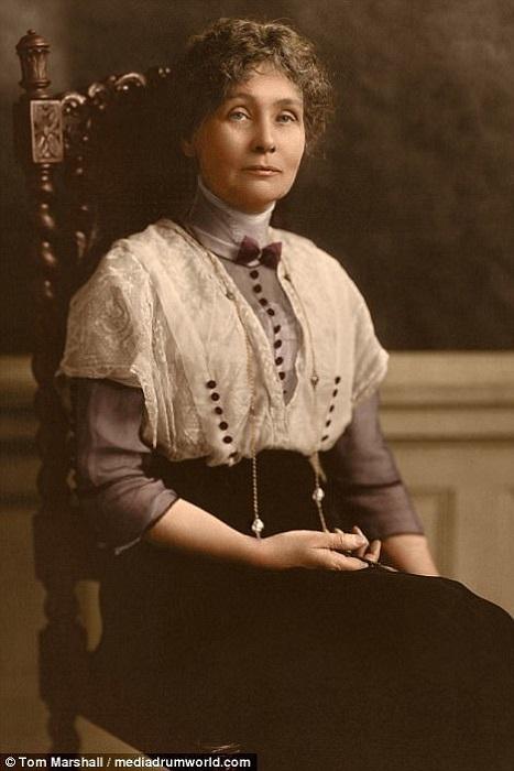 Эммелин Панкхёрст была предводительницей самой агрессивной части движения суфражисток.