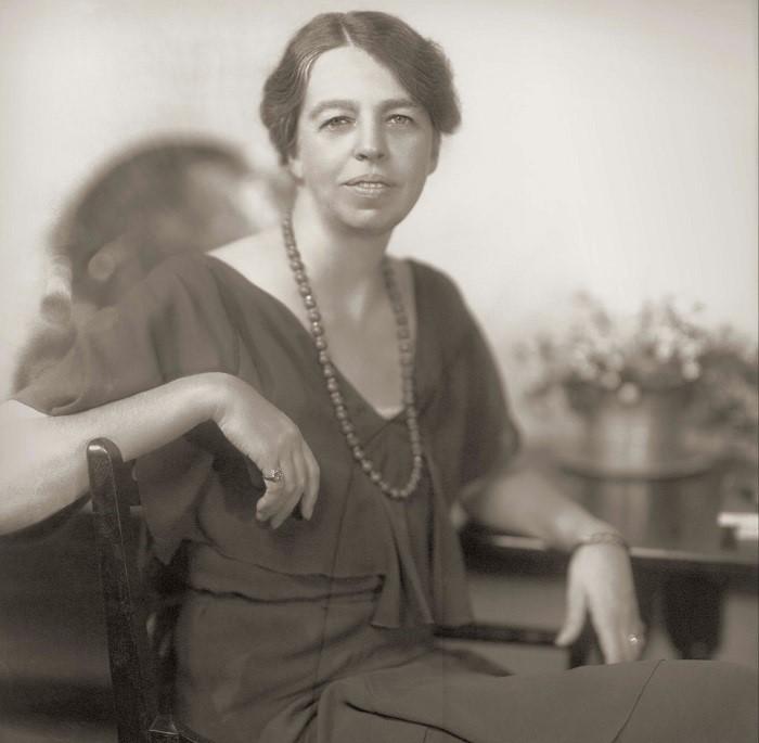 Элеонора Рузвельт в начале своего замужества.
