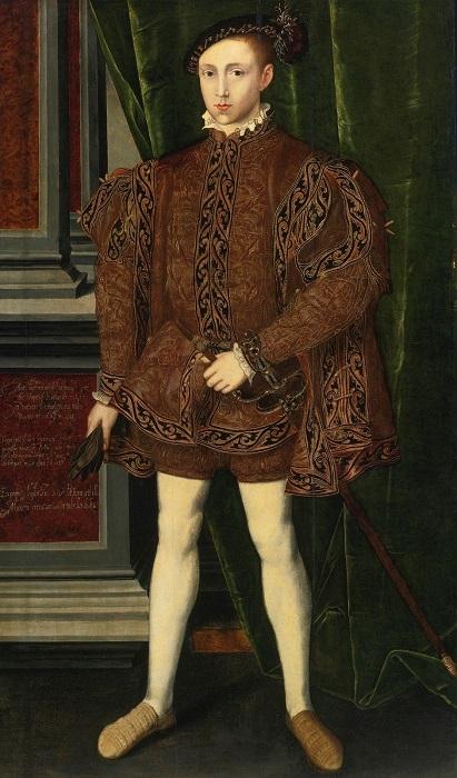 Портрет кисти Уильяма Скротса.