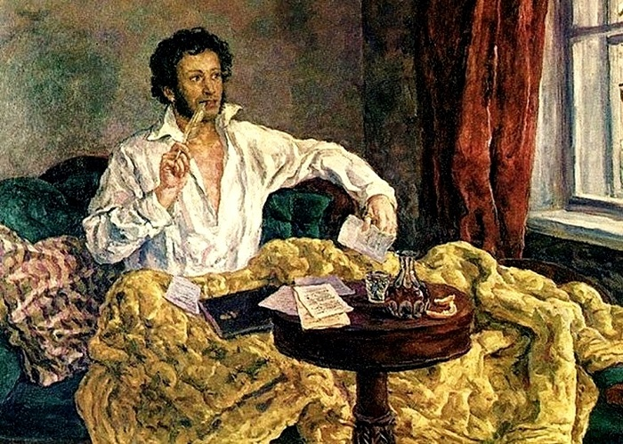 Пушкин не настолько без штанов.
