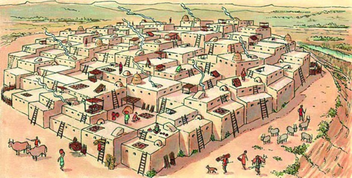 В Чатал-Хююке не было улиц