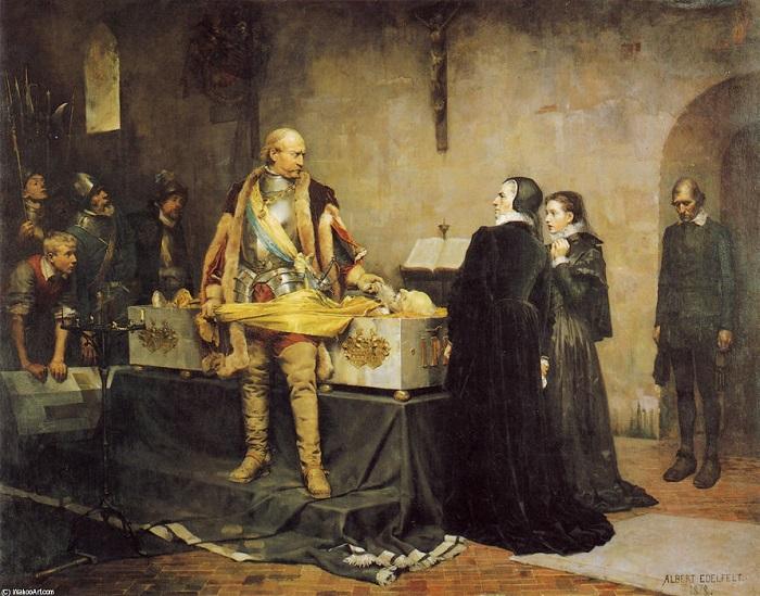 Картина Альберта Эдельфельта.