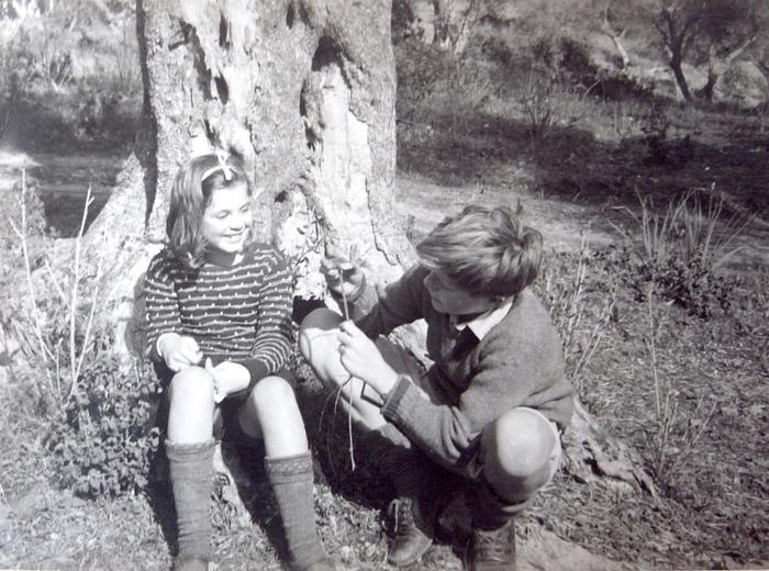 Джерри дружил не только со своим учителем Теодором, но и с его дочерью Алексей.