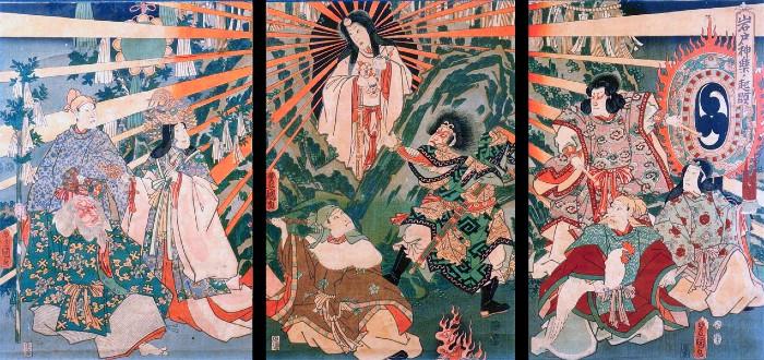 Японская императорская семья имеет религиозное значение для странны из-за легенды о божественном происхождении.