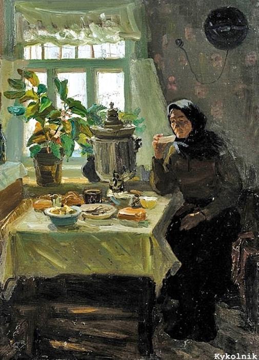 Картина Анатолия Волкова.