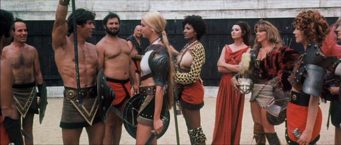 Кадр из фильма «Гладиатрикс».