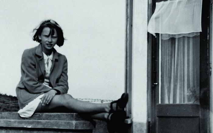 Одри Хепберн в двенадцать лет.