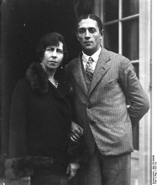 Виктория с Александром Зубковым.