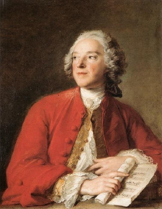 Пьер Бомарше в возрасте двадцати трёх лет, портрет кисти придворного художника Наттье.
