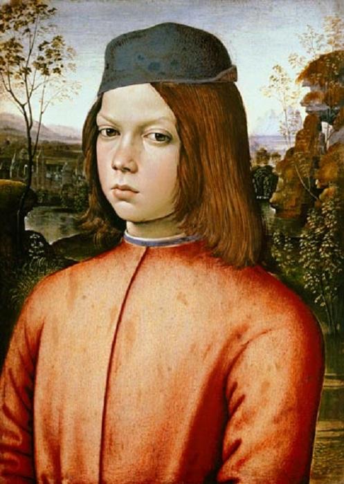 Знаменитый портрет мальчика кисти художника Пинтуриккьо, скорее всего, изображает юного Цезаря Борджиа.
