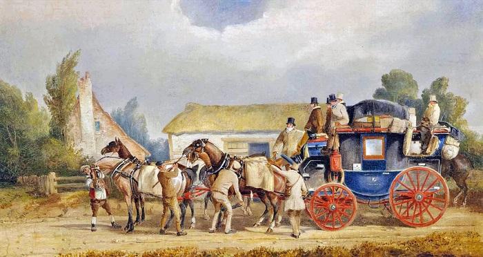 Картина Чарльза Купера Хендерсона.