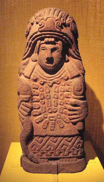 Ацтекская богиня родов Сиуакоатль.