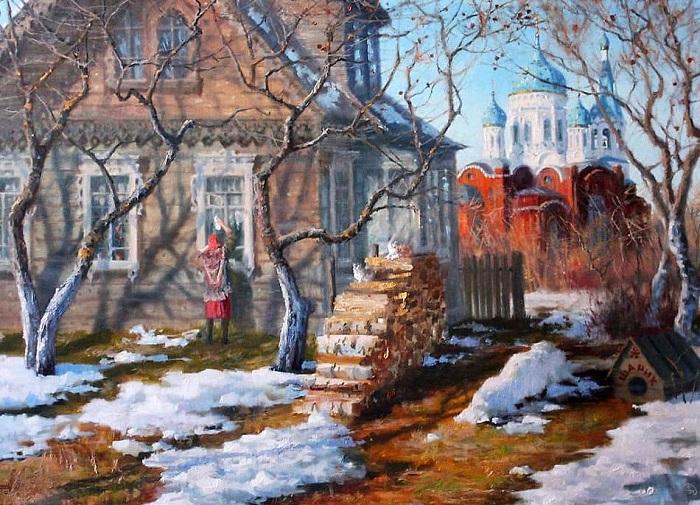 Картина Владимира Жданова.
