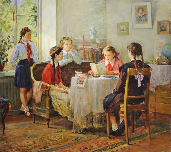 Картина Павла Чернова.
