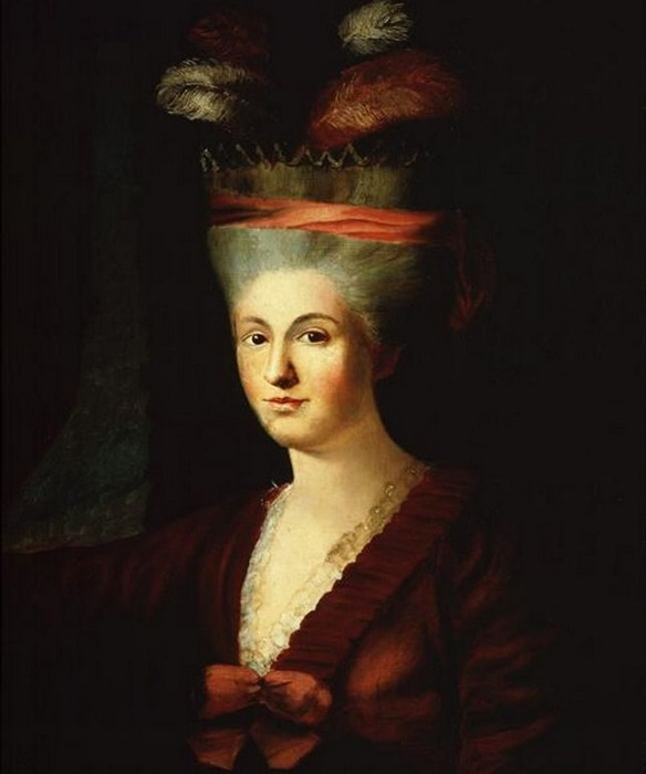 Портрет Анны Марии Моцарт.