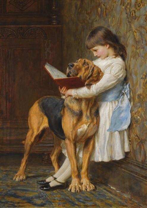 Картина Чарльза Бартона Барбера.