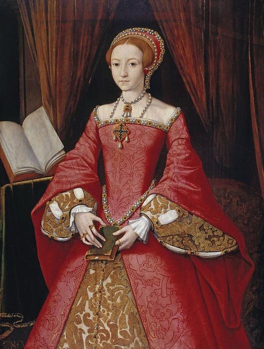 Портрет тринадцатилетней Елизаветы.