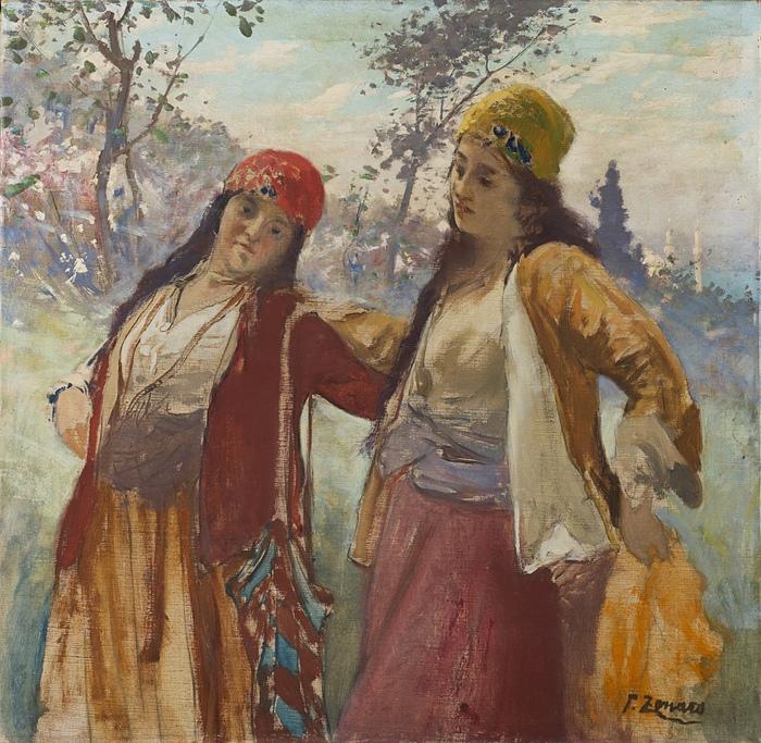 Турчанки и импрессионизм от Дзонаро.