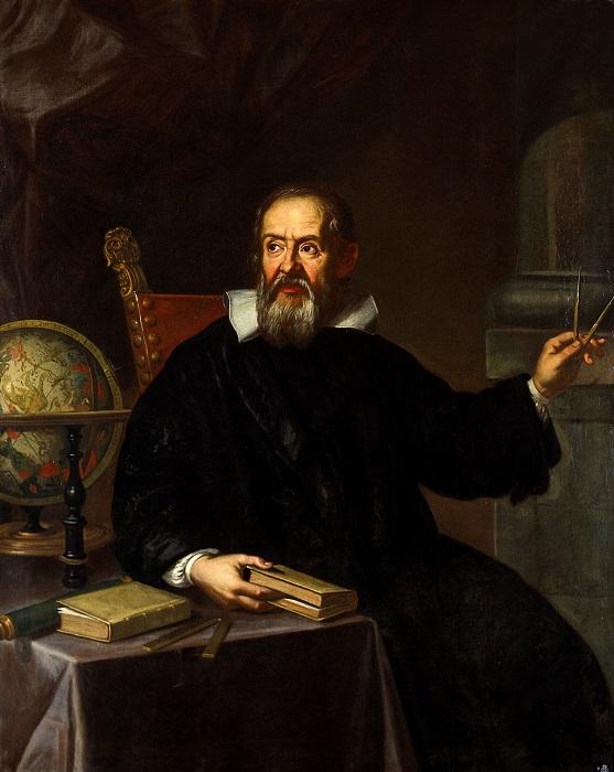 Портрет Галилея кисти Юстуса Сустерманса.