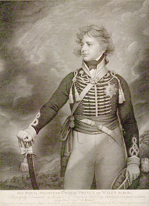 Портрет принца Георга.
