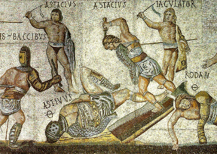Гладиаторам Родану и Астивусу явно не повезло.