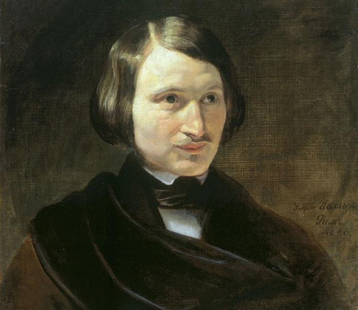Гоголь был очень тревожным человеком. Возможно, насмешки в школе это способствовали. Портрёт кисти Фёдора Мюллера.