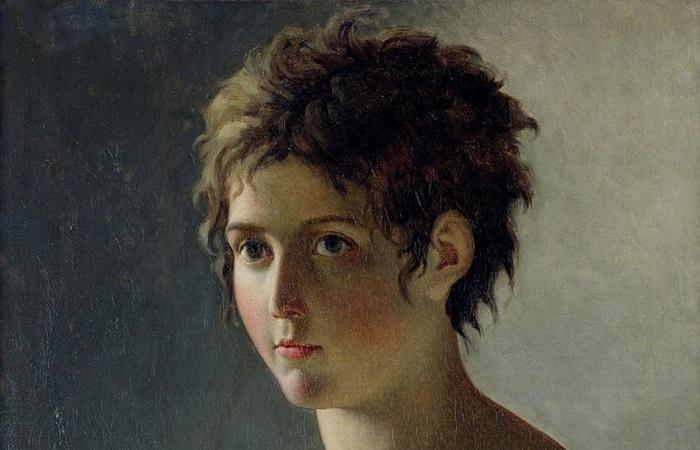 История коротких женских стрижек. Фрагмент картины Пьера Нарсиса Герена.