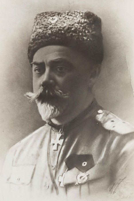 Генерал Белой армии Антон Деникин.