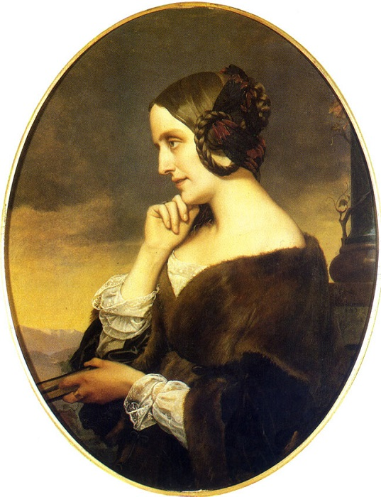 Анри Леман оставил и портрет Марии д'Агу.