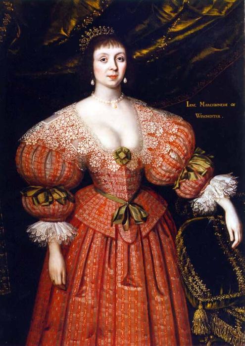 Женский портрет кисти Гилберта Джексона. Моралисты рисовали карикатуры на декольте такой глубины, показывая грудь вываливающейся полностью.