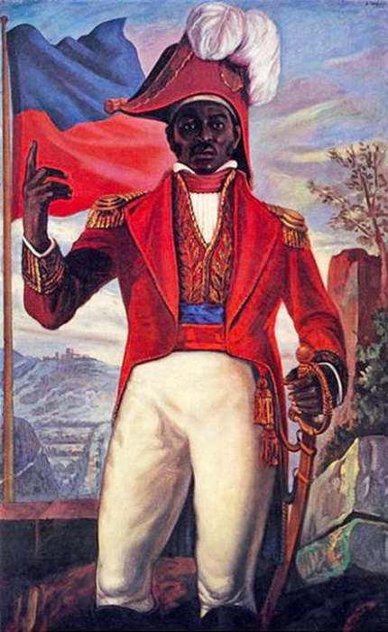 Жак-Жак Дессалин, первый гаитянский император, ограничил белых на Гаити в правах. Кроме поляков и немцев.