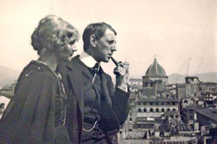 Йон и Эстер в Италии.