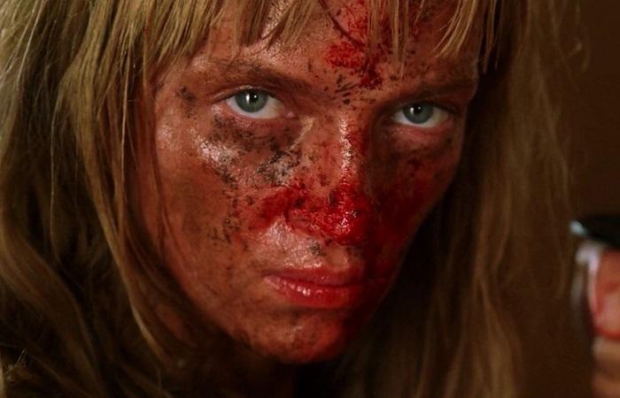 Кадр из фильма *Убить Билла*.