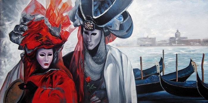 Картина Галины Калачихиной.