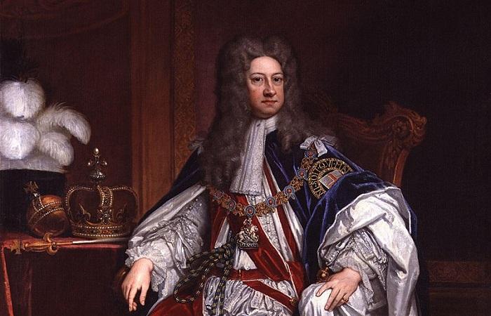 Георг I, портрет кисти Готфрида Кнеллера.