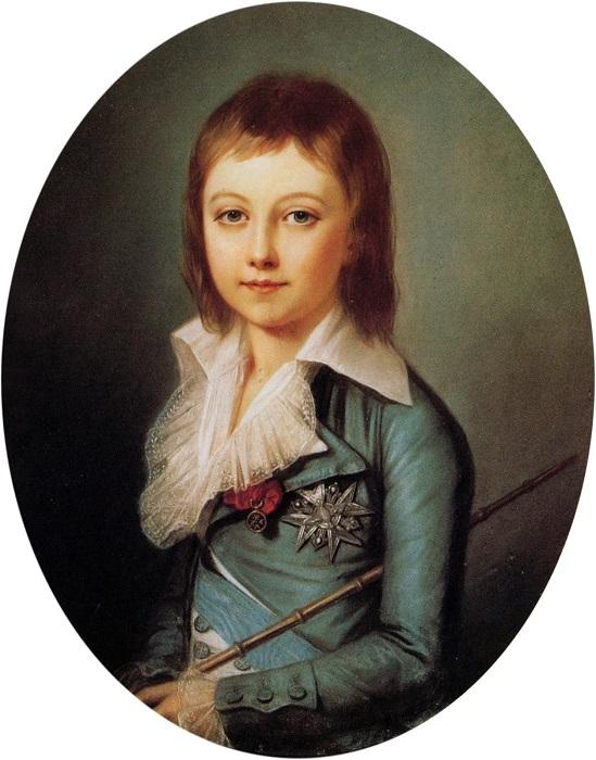 Последний принц Франции, Луи Шарль, дарил маме цветы, которые вырастил сам.