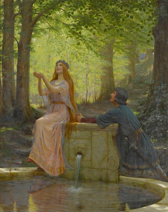 Картина Эдмунда Блэра Лейтона.