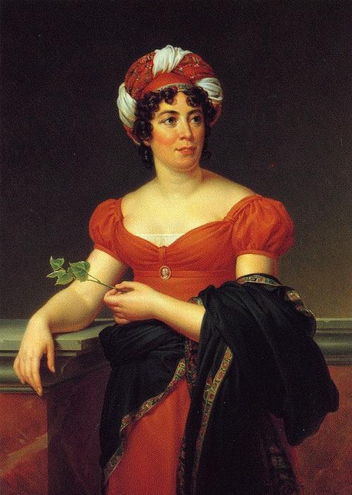 Во время нашествия Наполеона мадам де Сталь была в России и полностью поддерживала сопротивление французам.