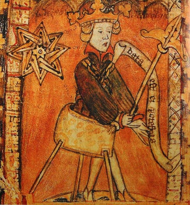 На начало своей королевской карьеры Магнус Ласковый ещё пользовался ходунками.
