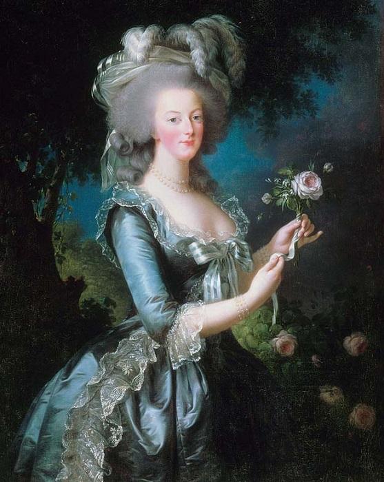 Мария-Антуанетта была легкомысленной особой, но других грехов за ней не наблюдалось. Портрет кисти Жана Франсуа Копе.